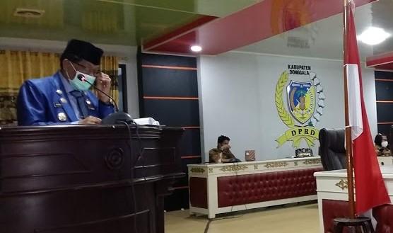 Pemda Donggala Usulkan Tiga Raperda ke DPRD
