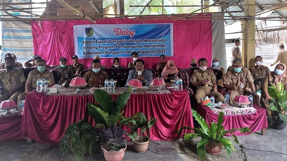 Bupati Donggala Dialog Dengan Petani Kecamatan Banawa Selatan