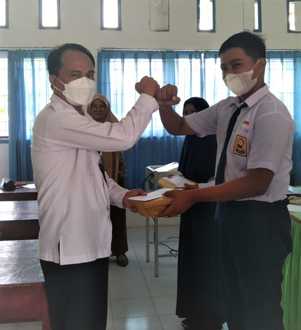 BNNK Donggala Pilih Duta Anti Narkoba SMPN 3 Banawa